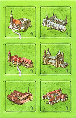 Carcassonne: German Monasteries - Kloster in Deutschland Mini Expansion