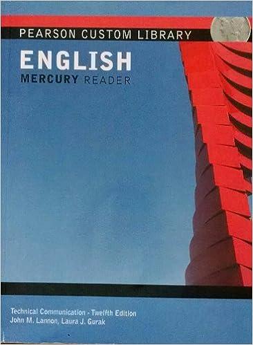 Technical Communication Twelfth Edition Nau John M Lannon Laura J Gurak 9781269291682 Amazon Com Books