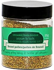 Epicureal 100% Pure Fennel Pollen for Cooking and Baking, 35g (1.24oz) | Packed with Flavour, High in Antioxidants, Vitamin C and Manganese