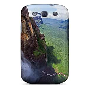 Galaxy S3 Cover Case - Eco-friendly Packaging(water Falls)