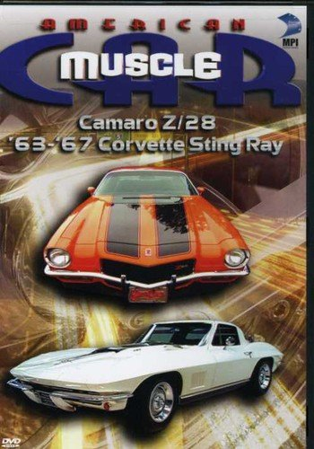 American MuscleCar: Camaro Z/28 and '63-'67 Corvette Sting Ray (64 65 66 67 Corvette)
