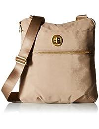 Baggallini Hanover Crossbody Bag Gold Hardware, Beach, One Size