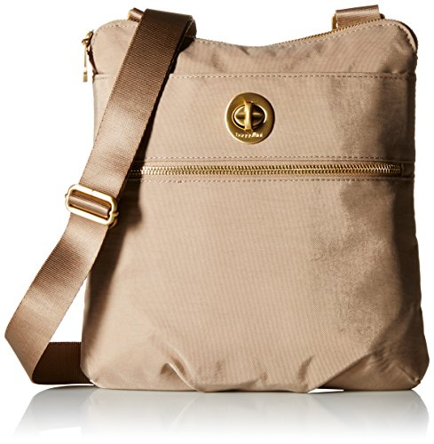 Price comparison product image Baggallini Hanover Crossbody Bag Gold Hardware, Beach, One Size