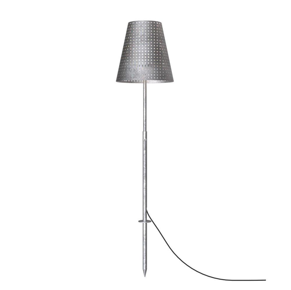 LICHT-TREND Aussen-Stehlampe, inklusiv Erdspieß, 165 165 165 x 35 cm, verzinkt 1021001 0048b6