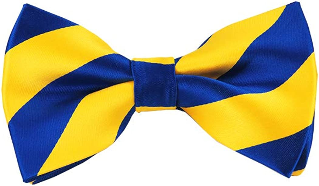 Yellow /& Blue Bow