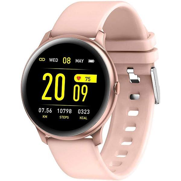 Amazon.com: KW19 - Reloj inteligente unisex con Bluetooth ...