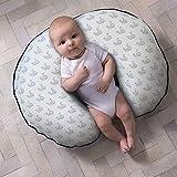 Boppy Organic Fabric Nursing Pillow Cover, Gray