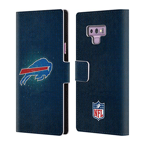 Bills Card Credit Buffalo (Official NFL LED 2017/18 Buffalo Bills Leather Book Wallet Case Cover for Samsung Galaxy Note9 / Note 9)