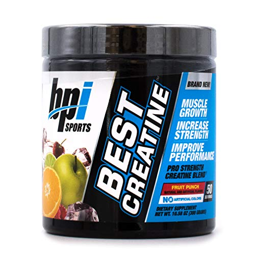BPI Sports Best Creatine (50 Servings) Pre/Post Workout Multiple Flavors : Fruit Punch