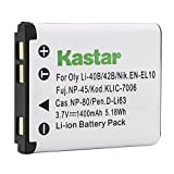 Kastar Replacement Battery for Nikon CoolPix S60 S80 S200 S203 S210 S220 S230 S500 S510 S520 S570 S600 S700 S3000 S4000 S5100 Digital Cameras