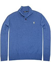 Polo Ralph Lauren Men's 3 Button Mock Neck Sweater
