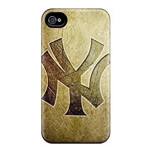 XVr20721GDRv Faddish New York Yankees Cases Covers For Iphone 4/4s