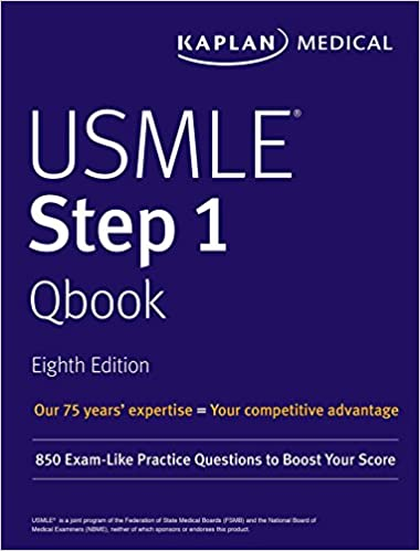 Buy USMLE Step 1 Qbook: 850 Exam-Like Practice Questions to Boost
