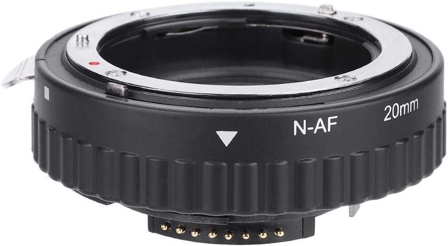 Serounder N-AF Auto Focusing Close-Up Macro Extension Lens Tube Adapter Rings Set 12mm+20mm+36mm for Nikon F Mount DSLR N-AF1-B