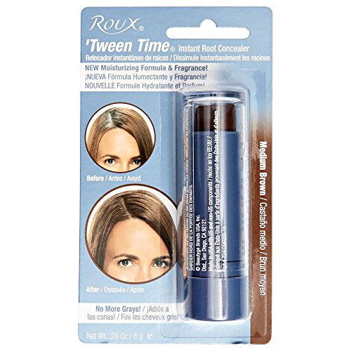 Roux Tween-Time Crayon Medium Brown (3-Pack) with Free Nail File