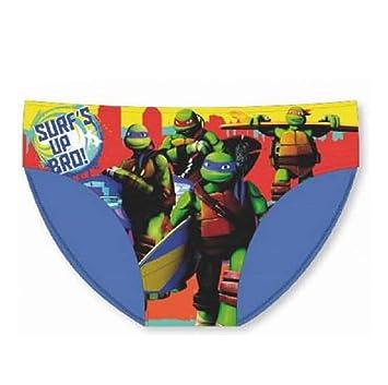 Tortugas ninja slip TN8578 Bañador de niño azul claro Talla ...