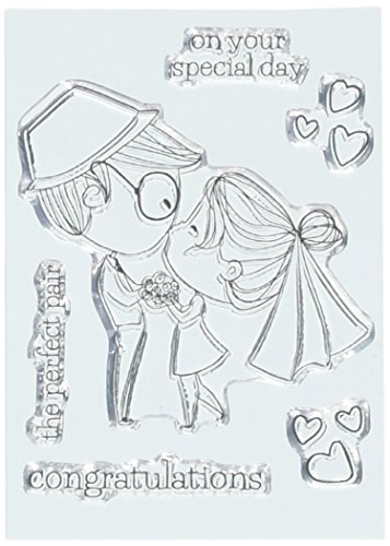 Brutus Monroe Wedding Day True Love Clear Stamps 3