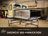 Snowcat Bed Fabrication