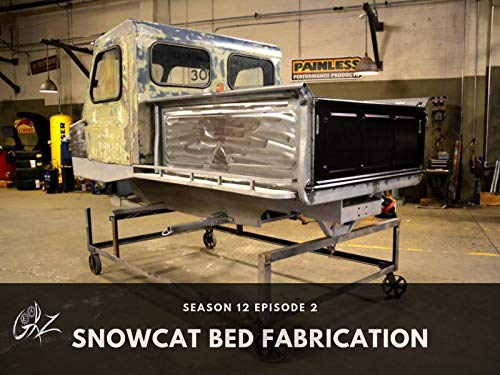 Snowcat Bed Fabrication (Sets Custom Sheet)
