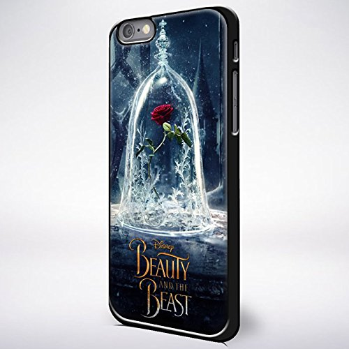 Beauty and the Beast movie poster for iPhone 6/6s Black case