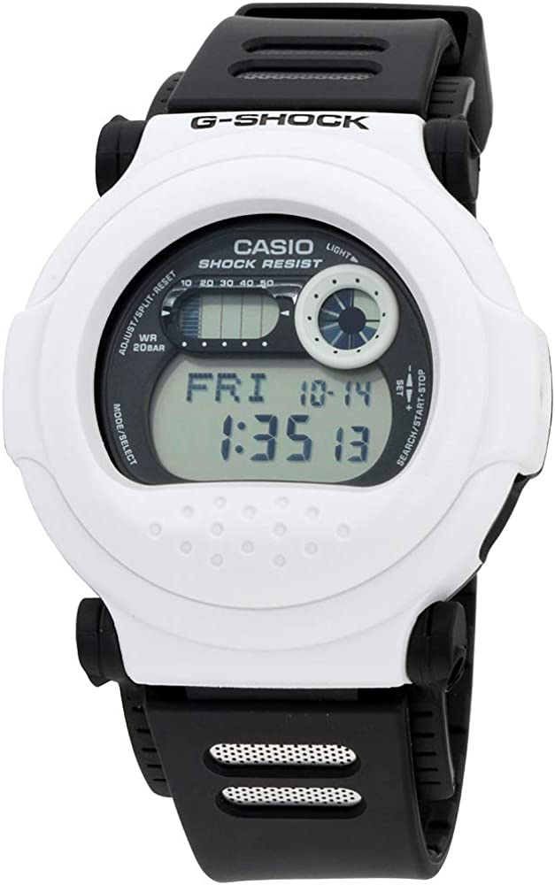 G-Shock G-001BW-7 Black and White Series Luxury Watch – Black White One Size