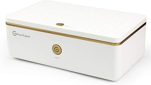 Caja de esterilizador de luz UV, desinfección de Caja de esterilizador doméstico con lámpara germicida Ultravioleta Esterilización por UV Desinfección para teléfono móvil, Ropa Interior, Equipo para: Amazon.es: Hogar