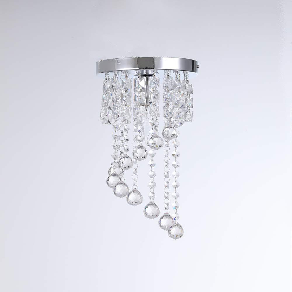 Moderne LED-Kristall-Deckenlampe, geeignet für Wohnzimmer-Schlafzimmer-Korridor Studie und andere Indoor-WohnPlätze,25CM