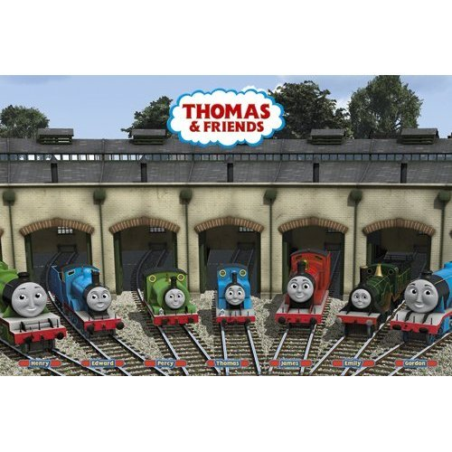 Thomas and Friends Commercial Poster Cast Characters