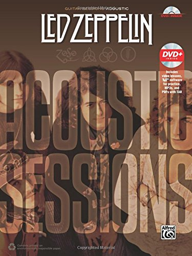 Guitar Sessions -- Led Zeppelin Acoustic: Book & DVD - Right To Play Dvd