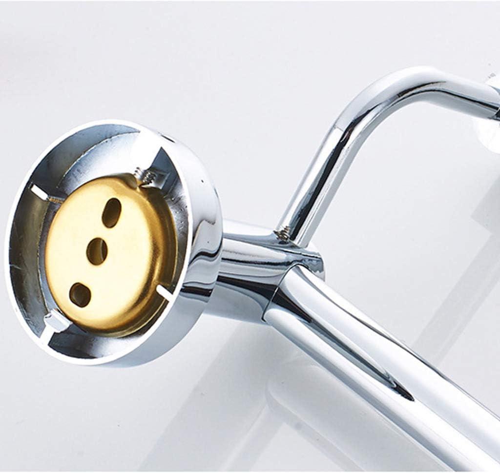 para La Cocina Cuarto De Ba/ño WC Hotel De La Oficina Double Pole 30cm De Toallas Gratuito Regulable para Un Ambiente Limpio FEFCK Toallero Montado En La Pared del Carril Retr/áctil