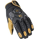Wells Lamont Hi-Dexterity Mechanic Gloves, Heavy Duty Impact Protection, Reinforced Leather Palm, X-Large A7005XL)