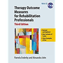 Therapy Outcome Measures for Rehabilitation Professionals by Pamela Enderby (2015-01-01)