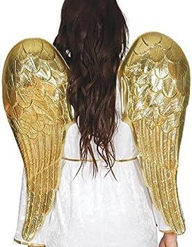 Fancy Me Mujer Hombre 80cm Dorado Cupido Ángel Dios Halloween ...