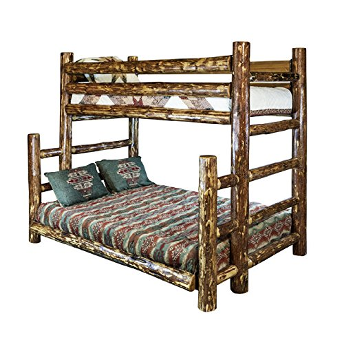 Montana Woodworks MWGCBBTFN Glacier Country Collection Full Bunk Bed, Twin