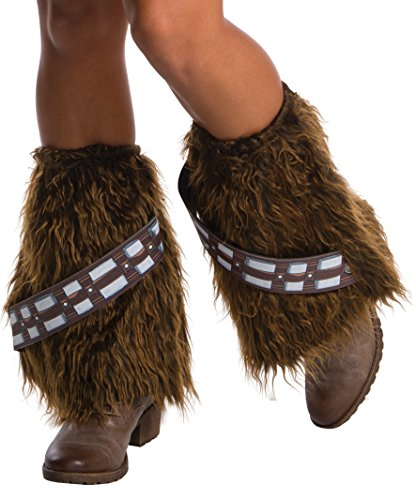 Rubie's Costume Co. Women's Adult Star Wars Faux Fur Chewbacca Legwear, As/Shown, One (Star Wars Women Costumes)