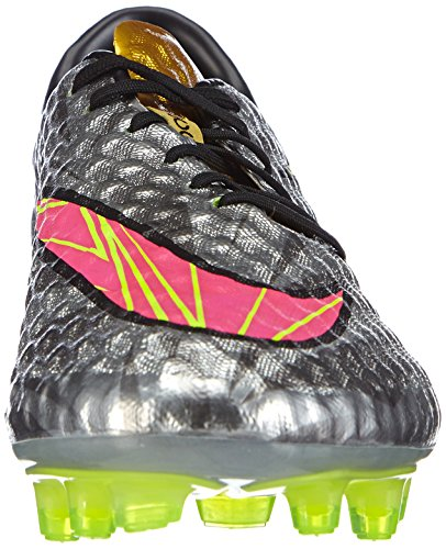 Nike Hypervenom Phantom Premium FG - Zapatillas de fútbol para hombre Chrome/Hyper Pink-Mtlc Gld Cn