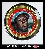 1971 Topps Coins # 48 Bob Oliver Kansas City Royals (Baseball Card) Dean's Cards 6 - EX/MT Royals