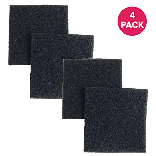 (Crucial Vacuum Micro Filtration Filters Replacement - Compatible with Kenmore Part # 20-86883, 86883, 40321 - Allergen Foam Filters Fit Kenmore CF1 Micro Filtration, Progressive Filter (4 Pack))