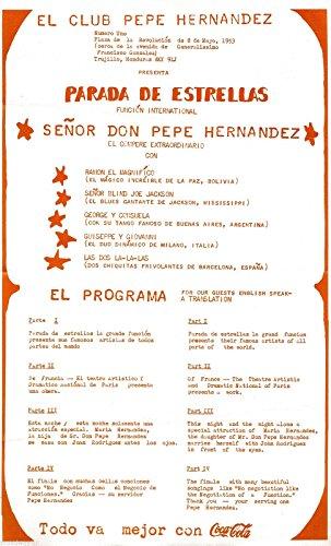 (Senor Don Pepe Hernandez