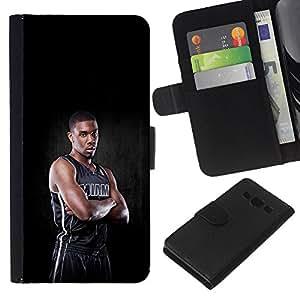 Stuss Case / Funda Carcasa PU de Cuero - Miami Jugador de Baloncesto - Samsung Galaxy A3