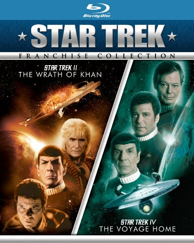 Star Trek II: The Wrath of Khan/Star Trek IV: The Voyage Home [Blu-ray]