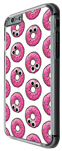 987 - Cool fun cute donut illustration candy bakery food love collage trend blogger kawaii Design iphone 5 5S Hülle Fashion Trend Case Back Cover Metall und Kunststoff -Clear