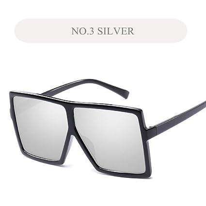 YSFU Gafas de sol Gafas De Sol Grandes Modelos Femeninos ...