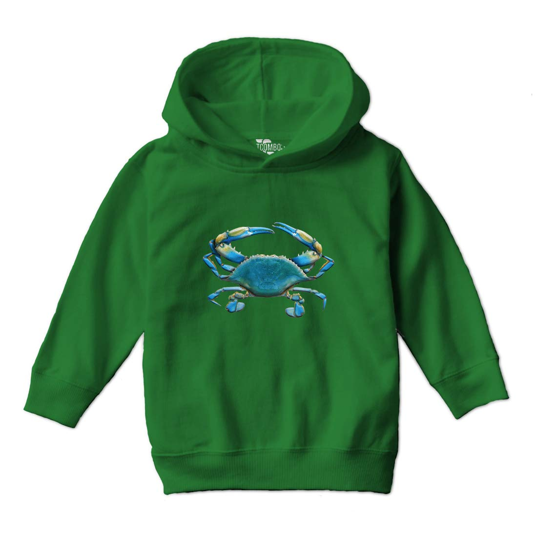 Tcombo Blue Crab - 3D Toddler Hoodie Sweatshirt KID_00033_KIDHOOD