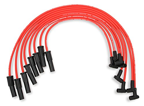 Mallory 601 Pro Wire Set 8mm Red Silicone Jacket Black Plug Boots Pro Wire Set