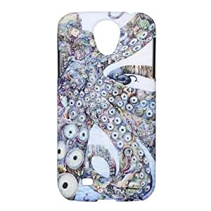 Amidea AC014D-S4 Luxury Peacock design Original hand-painted protective cover case for Samsung Galaxy S4 i9500-Retail pacakge