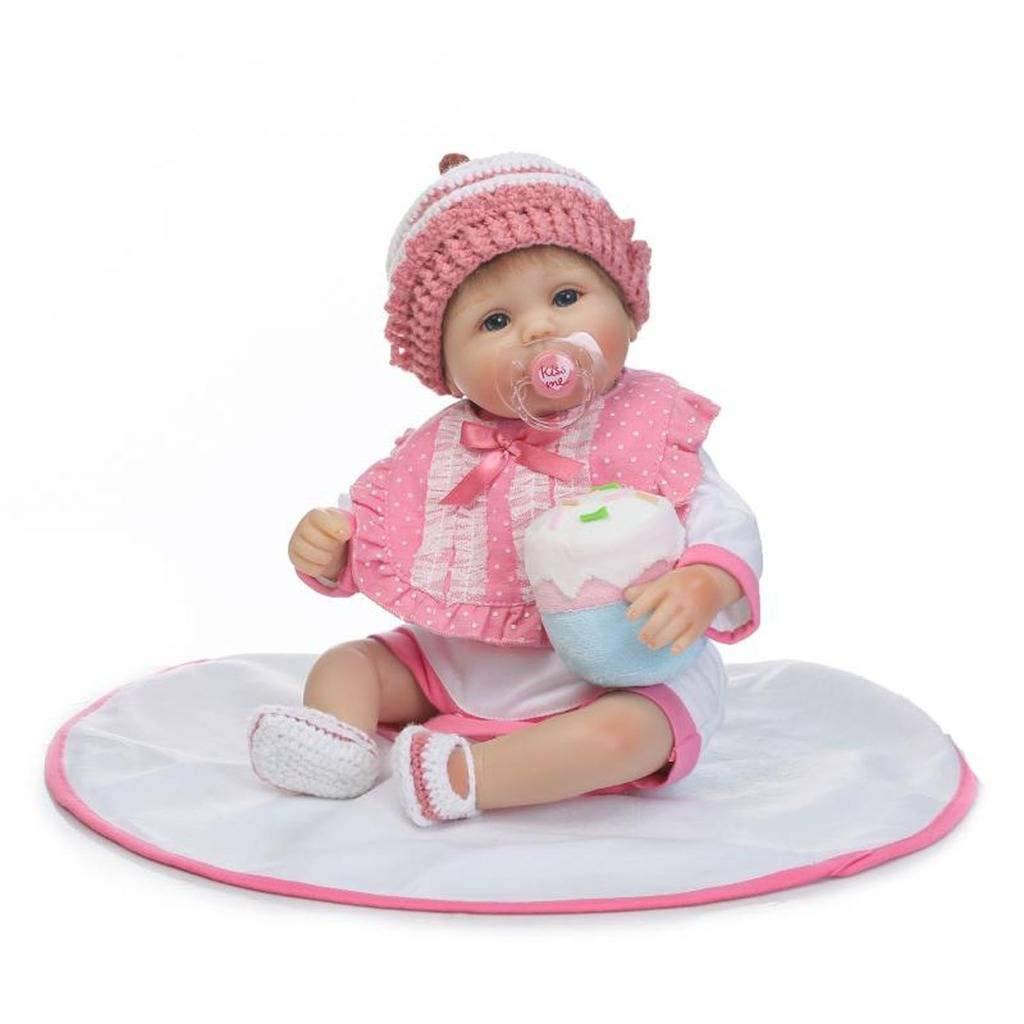 TERABITHIA 16 Zoll Realistische Adorable Neugeborene Baby Preemie Puppen mit Haar