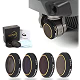 Drone Fans Camera Lens Filter ND4 ND8 ND16 ND32 for DJI MAVIC PRO Wont Affect Gimbal Calibration 4 Pack