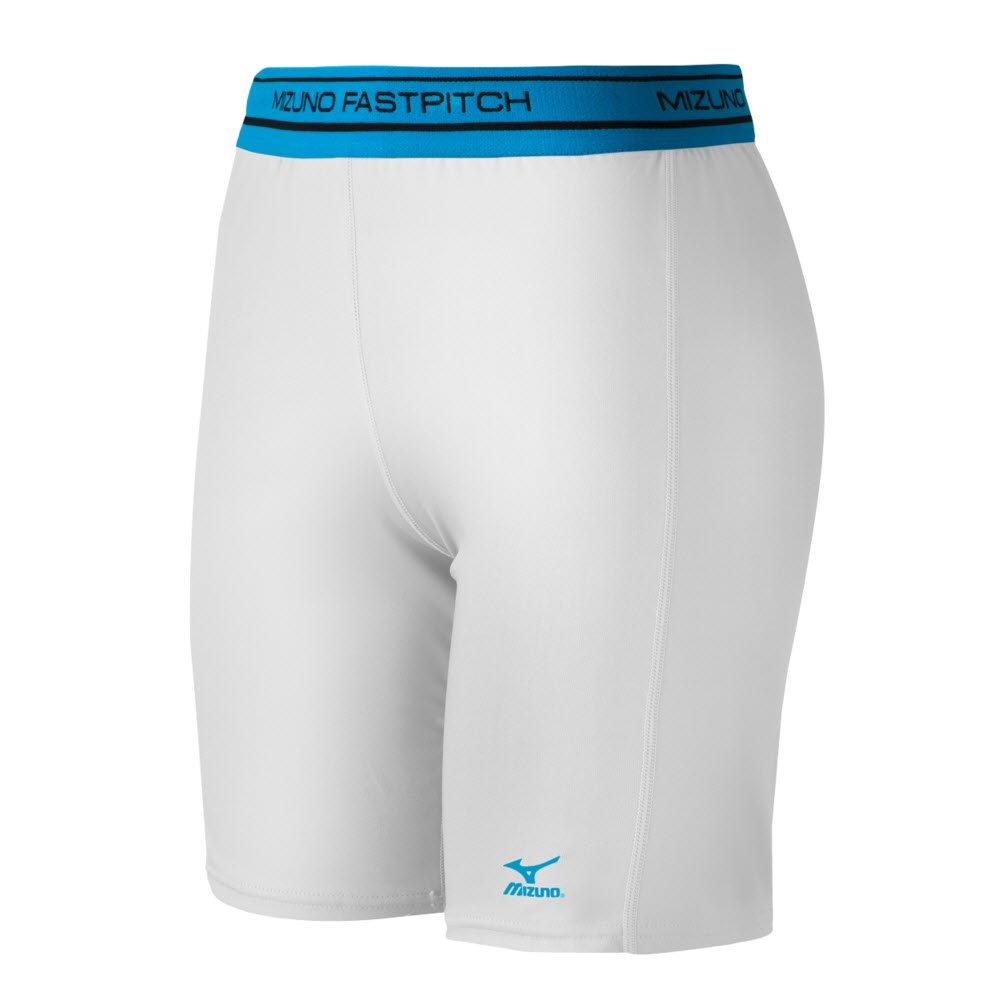 Mizuno Low Rise圧縮Sliding Shorts B015EV6G5W X-Small|ホワイト ホワイト X-Small