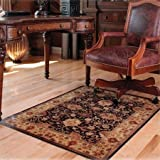"Deflecto 46"" x 60"" Printed Decorative Anytime-Use Chair Mat for Hard Floor"